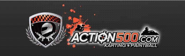 : Action 500 karting paintball